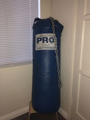 PBS PRO HEAVY BAG PUNCHING BAG for Sale in Los Angeles, CA