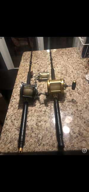 Fishing rod and reel for Sale in Sewell, NJ
