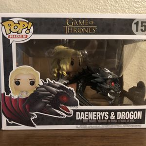 Game of Thrones - Dragon & Daenerys Action Figure for Sale in Lemon Grove, CA