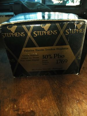 Antique Stephan's crystal perfume bottle for Sale in San Diego, CA