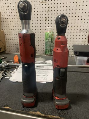 SNAPON CORDLESS DRILLS 3/8 and 1/4 for Sale in Turlock, CA