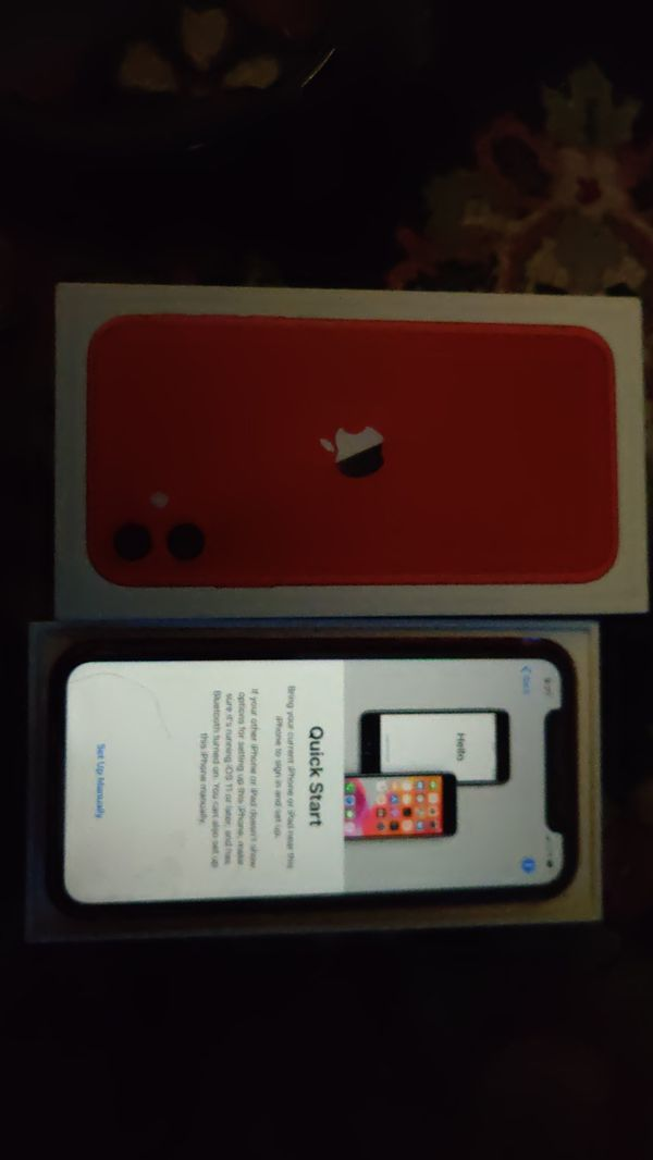 IPHONE 11 T-MOBILE & Case