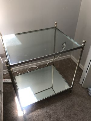 Glass & Mirrored Nightstand for Sale in Los Angeles, CA