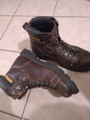 Caterpillar leather work boots size 10 1/2 for Sale in Owatonna, MN