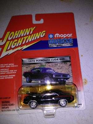 Used, Johnny lightning mopar muscle 70 Plymouth cu