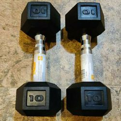 New 10lb Dumbbell Set 20lb Total for Sale in Tacoma,  WA