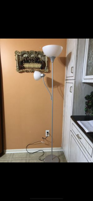 "71"" inch torchiere floor lamp for Sale in Utica, MI"