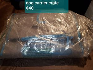 Dog carrier crate for Sale in Warren, MI