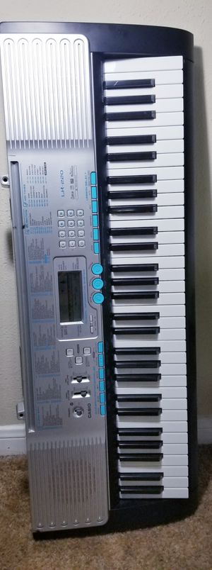 CASIO Musical Keyboard With charger for Sale in Houston, TX