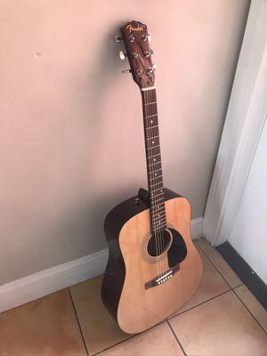 Fender f-100 acoustic guitar for Sale in Miami, FL