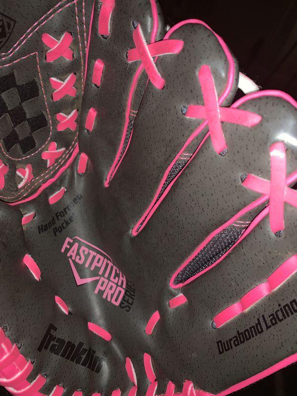 Franklin softball glove 11