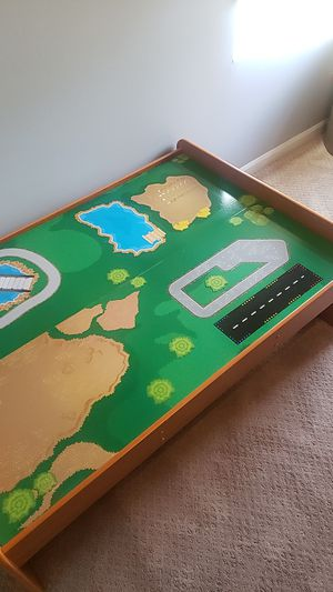 Kidskraft train/activity table- no tracks or train for Sale in Hanover Park, IL