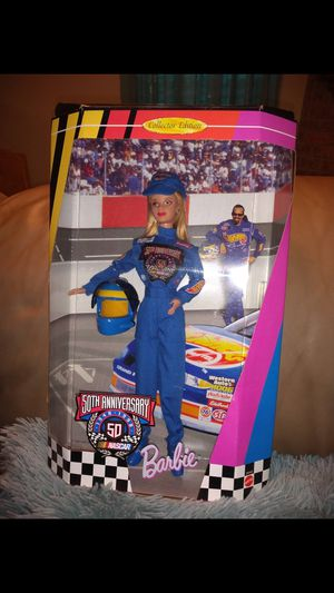 50th Anniversary Nascar 1948 - 1998 Barbie for Sale in Austin, TX