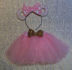 Minnie Mouse ears tutu 6 months 12-18 months for Sale in San Diego, CA