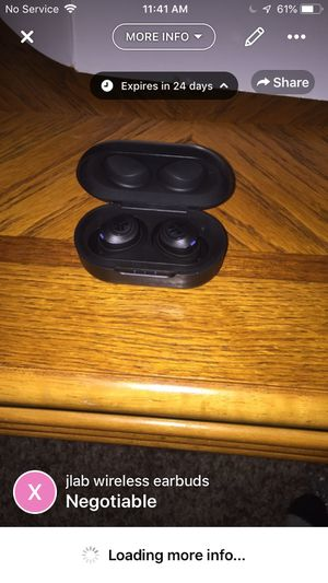 J lab wireless earbuds With rechargeable case for Sale in Hastings, MN