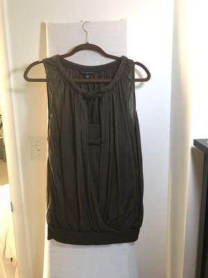 Banana Republic silk brown blouse size M for Sale in Miami, FL