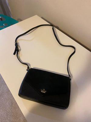 Black Kate Spade Envelope Crossbody Purse for Sale in Edgewood, WA