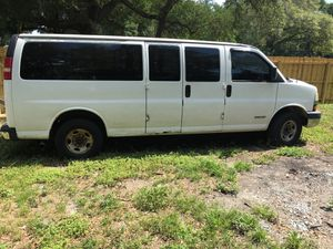 2005 Chevy express 3500 for Sale in Seffner, FL