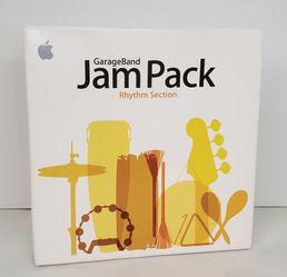 Apple GarageBand Jam Pack - Rhythm Section 2 DVD Set Software 2006 for Sale in St. Petersburg,  FL