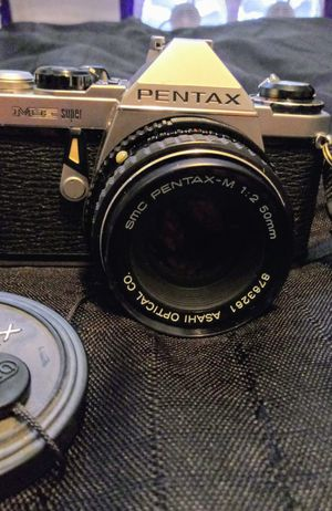 Pentax ME Super with asahi 1:2 5mm lens for Sale in Snohomish, WA