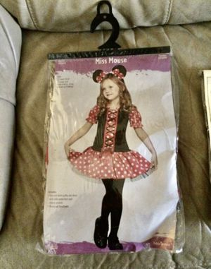 Minnie Mouse Costume 3T - 4T for Sale in Hialeah, FL