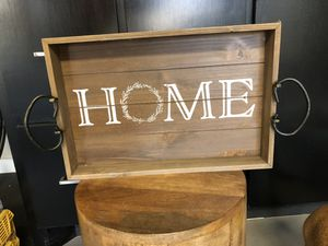 Home decoration tray for Sale in Dallas, TX