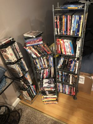 225 DVDs and stands for Sale in Waterford Township, MI