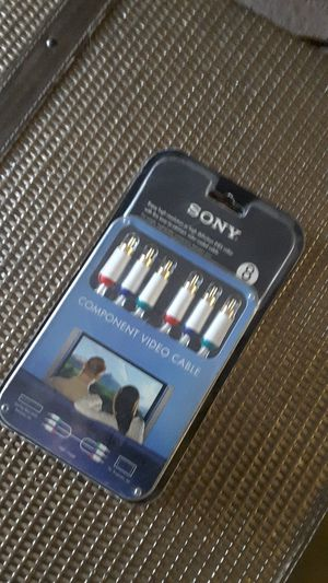 Sony component video cables for Sale in Newark, CA