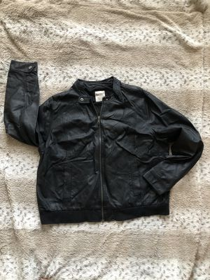 Old Navy Faux leather jacket xxl for Sale in McHenry, IL