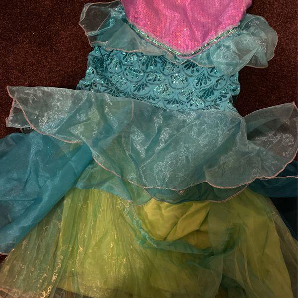 Little Mermaid Costume (size 5-6)