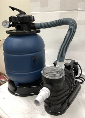 """12"""" sand filter and water pump system for intex above ground pool for Sale in Rowland Heights, CA"""