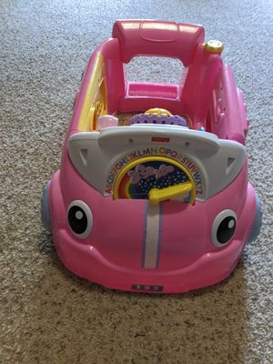 Fisher Price laugh and learn crawl around car for Sale in Morrisville, NC