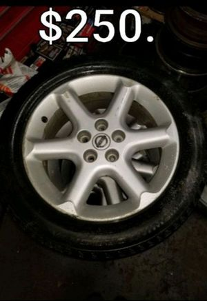 Maxima 17 inch rims wheels tires snow for Sale in Middletown, CT