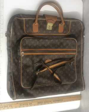 Louis Vuitton garment bag purse vintage authentic for Sale in Riverview, FL