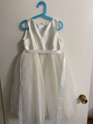 Girl's Satin Top Flower Girl Dress for Sale in Dallas, TX