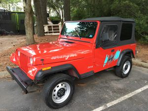 1995 Jeep Wrangler. Low Miles. 100% Stock for Sale in Virginia Beach, VA
