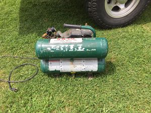 rolair fc2002 twin tank Air compressor for Sale in Sandy, OR