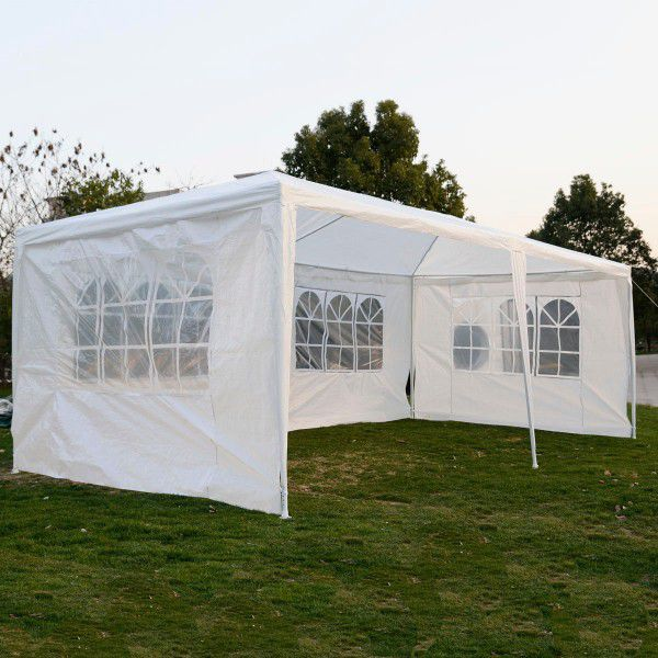 White Canopy Tent / Carpa Blanca