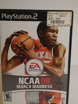 Ncaa March Madness 08 (sony Playstation 2, Ps2) for Sale in Downey,  CA