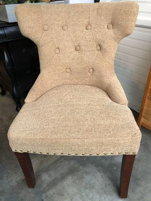 2 upholstered Pier 1 chairs-a pair for Sale in Anaheim, CA