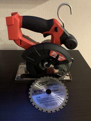 """Milwaukee m18 5-3/8"""" metal saw. for Sale in Renton, WA"""