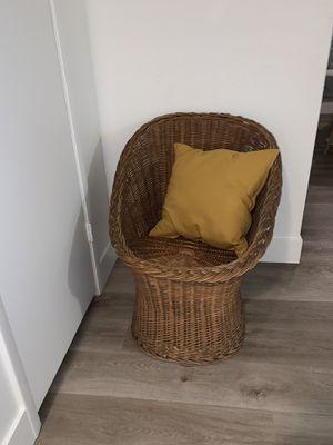 Wicker chair for Sale in Mesa, AZ