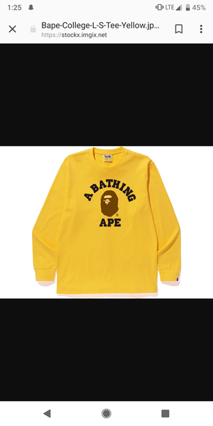 Bape long sleeve shirt brand new size M for Sale in Bakersfield, CA