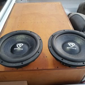 New Rockville 600 Watt Subwoofer 350 Obo for Sale in Selma, CA