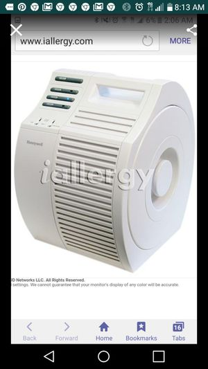 Honeywell Air Purifier. Looks identical to the picture for Sale in Auburn, CA