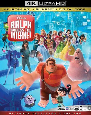 Ralph Breaks the Internet: Wreck-It Ralph 2 4K UHD Digital Movie Code for Sale in Fort Worth, TX