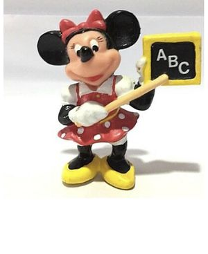 Disney Japan Cute Minnie Mouse as Teacher Vintage Figure Toy Kid for Sale in Wyoming, MI