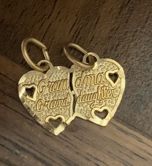 10k Gold Grandma And Grand Daughter Breakable Charm Or Pendent for Sale in South San Francisco, CA