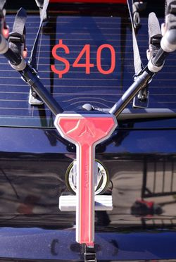 Allen Sports Trunk-Hatchback Bike Rack For All Cars And SUV's for Sale in Stanton,  CA