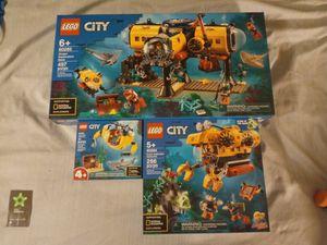 OCEAN EXPLORATION LEGO 3 PIECE SET for Sale in Phoenix, AZ